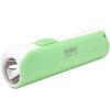 [Jingdong супермаркет] Кан Мин (KANGMING) светодиодный фонарик литиевая аккумуляторная батарея портативного факела персик розовый KM-8797 батарея аккумуляторная csb gp1272 f2