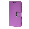 MOONCASE чехол для Sony Xperia T3 Flip Leather Wallet Card Slot Bracket Back Cover Purple sony xperia t3