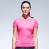 Jingdong [супермаркет] Xtep (XTEP) 884228019102 женская одежда короткая футболка розовый L код