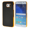 MOONCASE Litchi Skin золото Chrome Hard Back чехол для Cover Samsung Galaxy S6 чёрный