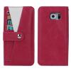 Оригинал Многофункциональный Полный защитный кожаный чехол с минисумкой с бумажной тканью для карточек для S6 чехол для карточек авокадо дк2017 093