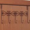 Сидение солнца после двери по-прежнему нет следа крючок вешалка вешалка 5 крюк монохромный 2 только установлен бронза