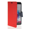 MOONCASE Classic cross pattern Leather Side Flip Wallet Card Pouch Stand Soft Shell Back чехол для LG G3 Red mooncase classic cross pattern leather side flip wallet card pouch stand soft shell back чехол для sony xperia m2 azure