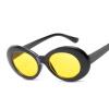 Женские полосатые солнцезащитные очки Красные оттенки солнцезащитные очки Овальные солнцезащитные очки женщин Модные люнеты солнцезащитные очки для стимпанк 9750 очки солнцезащитные lozza очки солнцезащитные