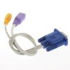 Новый VGA к телевизору Конвертор S-Video / RCA OUT кабеля адаптера