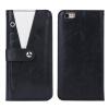Оригинал Многофункциональный Полный защитный кожаный чехол с минисумкой с бумажной тканью для карточек для iphone 6 plus