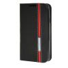 MOONCASE LG Optimus L60 чехол Minimalist style Leather Card Wallet Flip Slot Bracket Back чехол Cover Black