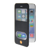 MOONCASE View Window Leather Side Flip Pouch Stand Shell Back ЧЕХОЛ ДЛЯ Apple iPhone 6 Plus Sapphire roar korea noble leather stand view window case for iphone 7 4 7 inch orange