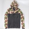 Весенняя осень Мужская повседневная камуфляжная куртка с капюшоном Мужская одежда Мужская ветровка Мужская одежда