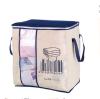 Cntomlv новый нетканый портативный держатель для хранения одежды для хранения 45,5 * 51 * 29 см Складной шкаф-органайзер для одеял