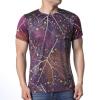 Модные мужские O-образные вырезные геометрические печатные майки-пуловеры майки