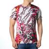 Модные мужские O-образным вырезом Красочные цветы Print Pullover T-Shirts модные мужские o образным вырезом кабины print pullover t shirts