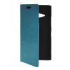 MOONCASE Slim Leather Side Flip Wallet Card Slot Pouch with Kickstand Shell Back чехол для Nokia Lumia 730 Blue защитная пленка для мобильных телефонов 3pcs nokia lumia 730 735