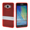 MOONCASE Soft Flexible Silicone Gel TPU Skin Stand Shell Back ЧЕХОЛ ДЛЯ Samsung Galaxy A5 Red embossed tpu gel shell for ipod touch 5 6 girl in red dress