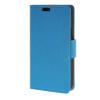 MOONCASE Мягкая кожа PU кожаный чехол бумажник флип карты отойти чехол для LG Joy H220 синий чехол flip case для explay joy tv черный