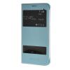 MOONCASE Samsung Galaxy A8 чехол для View Slim Leather Flip Pouch Cover Blue чехол для сотового телефона takeit для samsung galaxy a3 2017 metal slim металлик