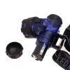 3ВТ легкая аккумуляторная зум велосипед фара Лампа высокой мощности фонари dosun светодиодная фара высокой производительности