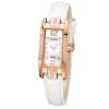 Laoshi Дейтон (ROSDN) Ши Ин часы из розового золота алмазов женской формы красного пояс L3136RL-MRW