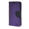 MOONCASE Splice Color Leather Wallet Flip Card Slot Bracket Back чехол для Sony xperia E4 Purple mooncase splice color leather wallet flip card slot bracket back чехол для sony xperia e4 black01