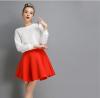Lovaru ™2015 новый зимний женская мода осень хлопок пространство пункт сплошной цвет юбки пачки юбки юбки evrika юбка женская вектра