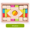 Новые деревянные игрушки для детей Деревянные красочные блоки Детские развивающие игрушки игрушки для детей