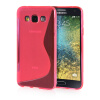 MOONCASE S - Line Soft Flexible Silicone Gel TPU Skin Shell Back ЧЕХОЛ ДЛЯ Samsung Galaxy E5 / E500 Hot pink декор для дома beautiful d sh ng b i