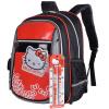 Hello Kitty (HelloKitty) сумки учеников 1--5 класса высокой емкости блестящий красный мешок плеча детский рюкзак KT5145