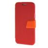 MOONCASE Side Flip Hard board Slim Leather Bracket Window чехол для Cover Samsung Galaxy S5 Mini красный камуфляжный защитный чехол дляsamsung galaxy s5