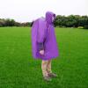 Многофункциональный мужской плащ пончо от дождя Рюкзак для пикника Mat