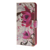 MOONCASE Flower style Leather Wallet Flip Card Slot Stand Pouch чехол для HTC Desire 620 A03 чехол для htc desire 616 skinbox flip черный