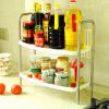 Ni Ро предпочтительно из нержавеющей стали, кухонной хранения специй полочные стеллажи пола отделочный слой 2 рамы стойки хранения сушилка DQ0937