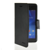 MOONCASE Classic cross pattern Leather Side Flip Wallet Card Pouch Stand Soft Shell Back чехол для Sony Xperia M2 Black mooncase classic cross pattern leather side flip wallet slot pouch stand shell back чехолдля htc desire 816 black brown