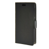 все цены на MOONCASE Vivid colors Leather Wallet Card Slot Bracket Back чехол для HTC Desire 320 D320 Black онлайн