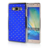MOONCASE Hard Chrome Plated Star Bling Back ЧЕХОЛ ДЛЯ Samsung Galaxy A7 Blue mooncase hard chrome plated star bling back чехол для huawei ascend y550 green