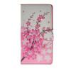 MOONCASE Plum flower style Leather Side Flip Wallet Card Slot Stand Pouch ЧЕХОЛДЛЯ Samsung Galaxy A7 nokia n73 plum в москве