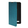 MOONCASE Slim Leather Side Flip Wallet Card Slot Pouch with Kickstand Shell Back чехол для LG L Bello D331 / D335 Blue mooncase litch skin leather side flip wallet card slot pouch stand shell back чехол для lg l bello d331 black