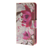 MOONCASE Flower style Leather Side Flip Wallet Card Slot Stand Pouch чехол для Sony Xperia Z4 Compact (Mini) a03 чехол для sony xperia z4 compact deppa air case red