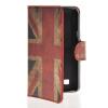 MOONCASE UK British Flag Leather Side Flip Wallet Card Slot Stand Pouch чехол для LG L50 suck uk