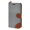 MOONCASE Xperia E4 , Leather Wallet Flip Card Holder Pouch Stand Back ЧЕХОЛ ДЛЯ Sony Xperia E4 Grey skinbox 4people чехол для sony xperia e4 e4 dual red