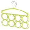 [Супермаркет] Jingdong дополнительных преимуществ продукта стеллажи стеллажи Dip-скольжения шарф стойка 2 установлена JX-0614 зеленые фрукты