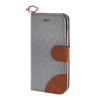 MOONCASE iPhone 5 / 5S , Leather Wallet Flip Card Holder Pouch Stand Back ЧЕХОЛ ДЛЯ Apple iPhone 5/ 5S Grey cute marshmallow style silicone back case for iphone 5 5s yellow white
