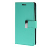 MOONCASE чехол для Samsung Galaxy A5 Flip Leather Wallet Card Slot Bracket Back Cover Green mooncase чехол для samsung galaxy core 2 ii duos g355h flip leather wallet card slot bracket back cover green