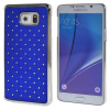 MOONCASE Samsung Galaxy Note 5 ЧЕХОЛДЛЯ Bling Chrome Hard Back Blue mooncase hard chrome plated star bling back чехолдля samsung galaxy a7 yellow