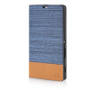 MOONCASE Canvas Design Leather Side Flip Wallet Pouch Stand Shell Back ЧЕХОЛДЛЯ Sony Xperia T3 Light Blue mooncase canvas design leather side flip wallet pouch stand shell back чехолдля sony xperia z3 dark blue