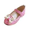 Дети Девушки партии балета Танец Свадебные платья Принцесса обувь Мэри Джейн Лук цветок свадебные платья