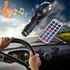 MMC Card USB Слот Автомобильный MP3 плеер Радио Музыка передатчик модулятор Remote mystery mmc 1443