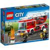 LEGO (LEGO) City Series 5 до 12 лет лестничной игрушки грузовика строительных блоки 60107 lego lego city бульдозер