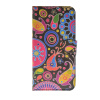 MOONCASE Flower style Leather Side Flip Wallet Card Slot Stand Pouch ЧЕХОЛ ДЛЯ Samsung Galaxy S6 Edge keymao luxury flip leather case for samsung galaxy s7 edge