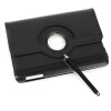 Черный 360� вращающийся магнитный стенд кожаный чехол Чехлы сумки для iPad мини