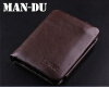 Фото - Мужская винтажная 100% натуральная кожа Bifold Wallet Money Card Holder Clutch Purse man clutch wallet card leather bag pockets bifold money clip black blue